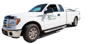 Green and Clean work truck